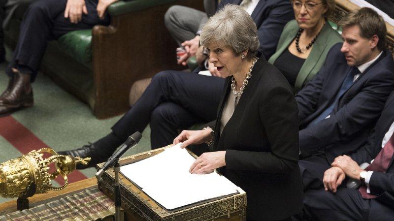 Royaume-Uni: le Parlement exclut, de justesse, la possibilité d'un Brexit sans accord