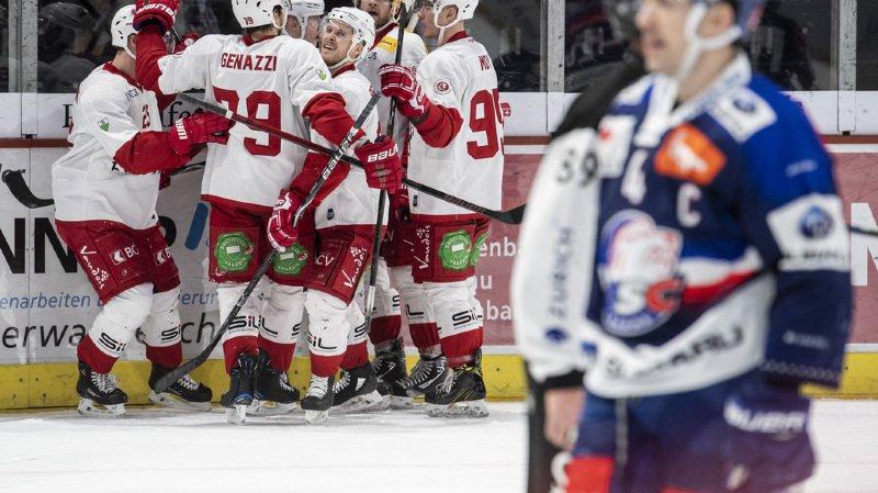 Hockey: bonne opération pour Lausanne et Bienne, Genève ne lâche pas la barre