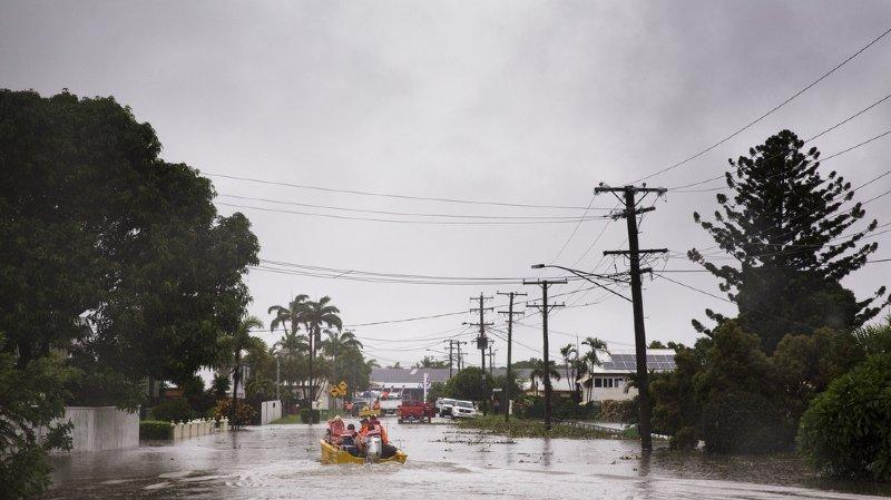 L'armée en renfort, des crocodiles en ville — Inondations en Australie