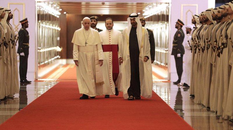 Diplomatie: le pape François se rend aux Émirats arabes unis pour une visite historique
