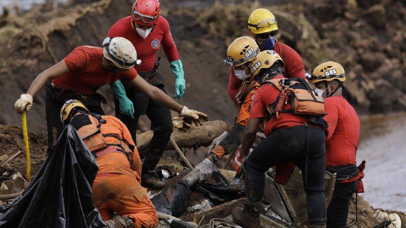 Brésil – rupture du barrage: le bilan monte à 150 morts