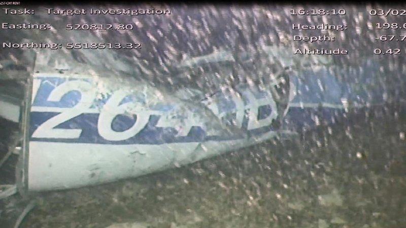 Disparition d'Emiliano Sala: un corps récupéré dans l'épave de l'avion