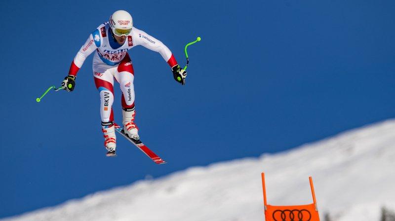 Ski alpin - Mondiaux d'Are: Carlo Janka 6e et Gilles Roulin 9e du deuxième entraînement de la descente
