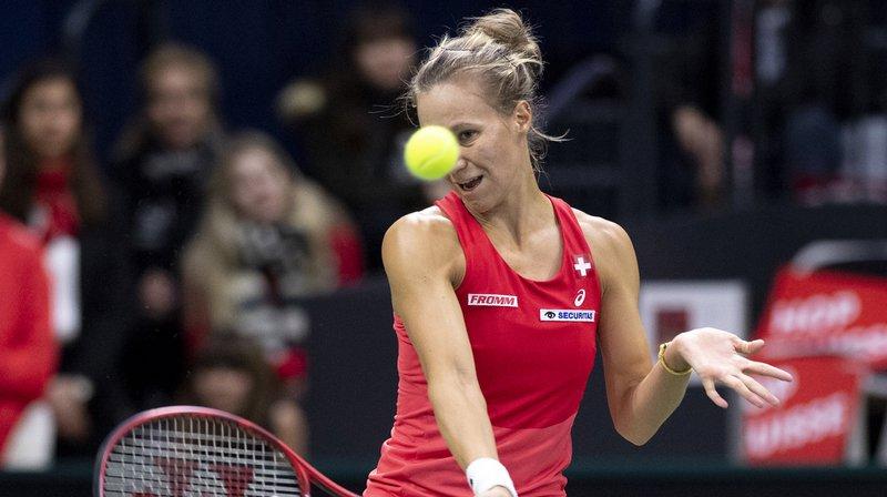 Tennis – FedCup: Viktorija Golubic offre le deuxième point à la Suisse contre l'Italie