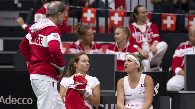 Tennis - Fed Cup: tirage compliqué pour la Suisse qui devra jouer aux Etats-Unis