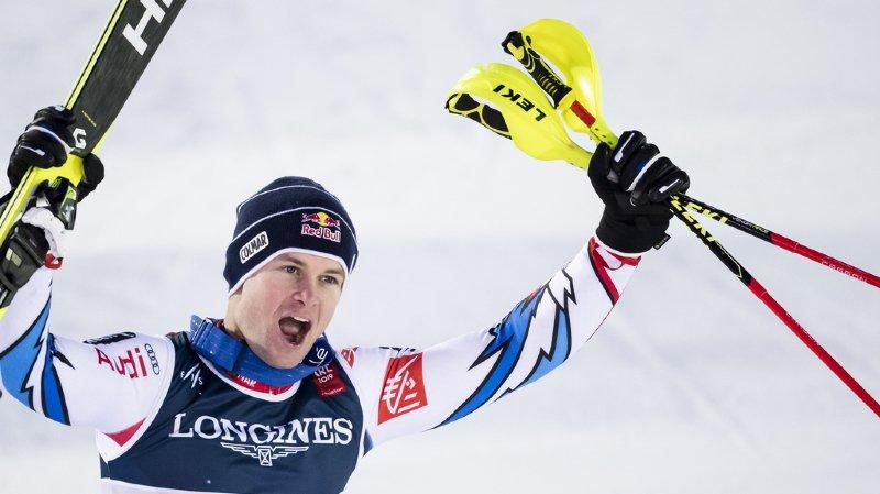 Le Français Alexis Pinturault est désormais champion du monde en combiné.