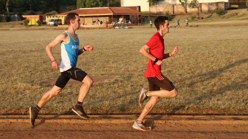Course à pied: Alex Jodidio au Kenya, dans la foulée des champions