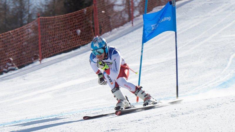 Ski-handicap: Théo Gmür remporte le dernier géant et le petit globe