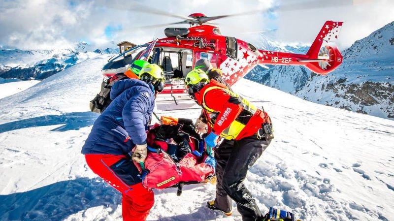 62 sauvetages par Air-Glaciers ce week-end