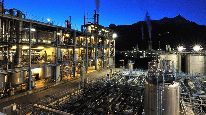 BASF veut se séparer de sa division pigments, très active à Monthey.