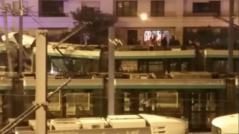 Une collision entre deux tramways a fait 12 blessés dans les Hauts-de-Seine, en France. (Twitter)