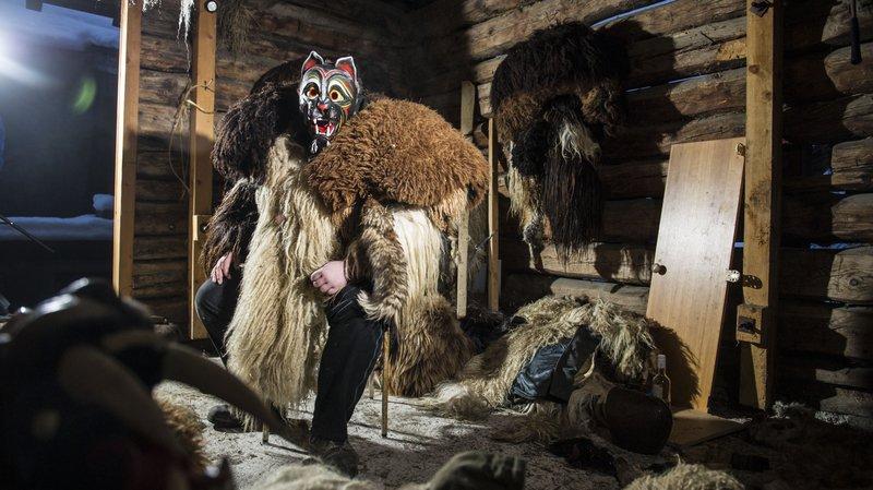 Evolène: le carnaval prend d'assaut le musée