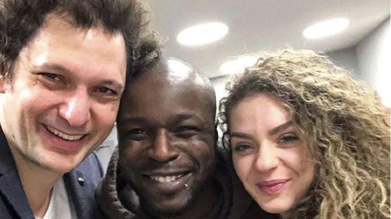 Eric Antoine invite Dakota et Nadia à L'Arena
