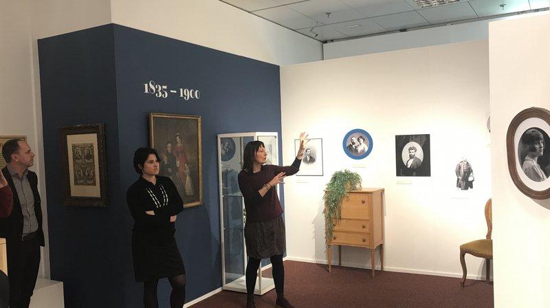 Martigny: la Médiathèque met en lumière l'histoire du portrait photographique en Valais