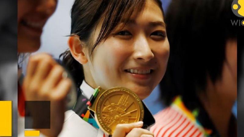 Rikako Ikee (18 ans) est devenue superstar dans son pays après ses six médailles d'or aux Jeux asiatiques l'an dernier.
