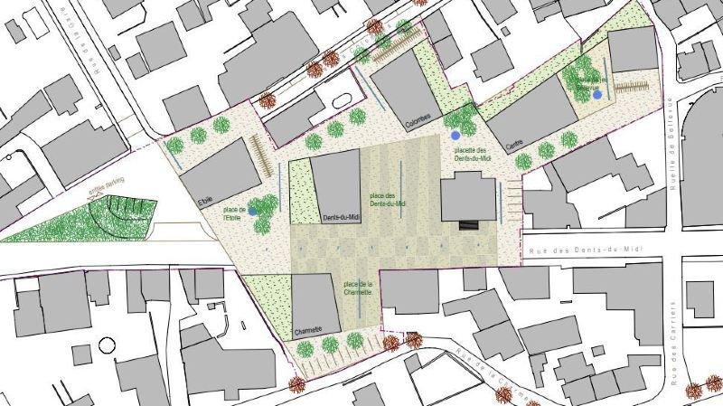 Collombey:  une étape supplémentaire pour le réaménagement du centre du village