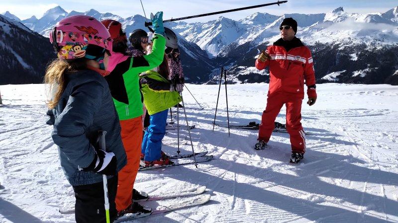 70% des enfants sierrois ne skient pas en dehors des journées scolaires.