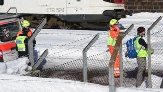 Grave accident ferroviaire au Tessin: deux ouvriers happés