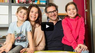 Série «Le Valais amoureux»: Mélanie et Didier, la famille et les bons rires avant tout