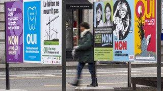 """Votation fédérale sur l'initiative contre le mitage: la majorité bascule vers le """"non"""""""