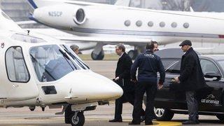 Forum économique de Davos: le nombre record de jets privés fait polémique