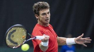 Tennis - Coupe Davis: Henri Laaksonen pousse Medvedev deux fois au tie-break, mais il finit par s'incliner