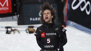 Snowboard - Mondiaux de Park City: Pat Burgener remporte la médaille de bronze à l'épreuve de half-pipe