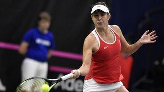 Tennis - FedCup: la Suisse a gagné l'Italie 3-0 après la victoire de Belinda Bencic face à Camila Giorgi