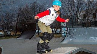 Celia Marie, 10 ans, la petite star du roller