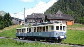 Chablais (VD): le train historique Aigle-Sépey-Diablerets à nouveau sur les rails