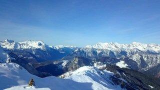 «Le Valais depuis les airs»: balade au-dessus de Bruson dans le Val de Bagnes
