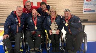 L'équipe Montana Tors a remporté le titre de champion de Suisse