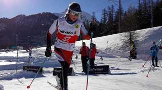 Ski nordique: Estelle Darbellay brille en Engadine