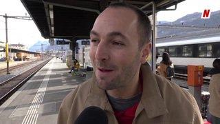 Climat : des étudiants valaisans font 52h de train jusqu'à Stockholm pour leur pétition, l'avis de Mathias Reynard, conseiller national