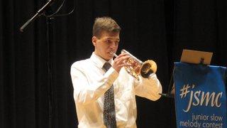 Alessandro Lehner de Blatten est le premier Haut-Valaisan à remporter le Junior Slow Melody Contest