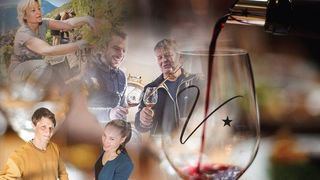 Entre les ceps: Swiss Wine Valais Community un cercle d'amoureux
