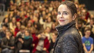 Amélie Nothomb en Valais: «L'inspiration est une plaie ouverte qu'il ne faut pas laisser cicatriser»