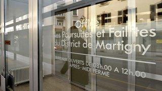 Valais: des offices de poursuites et faillites vont fermer