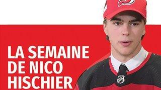 Retrouvez la semaine du joueur valaisan de NHL Nico Hischier