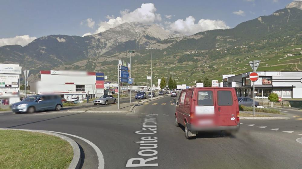 L'idée est d'éviter que le trafic de transit passe au centre des villages et de la zone commerciale de Conthey.