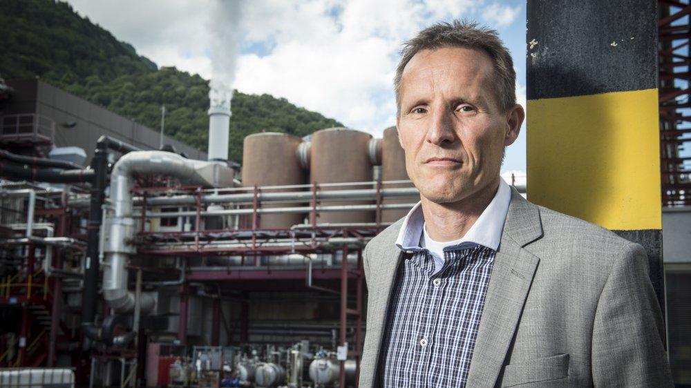Directeur de Siegfried Evionnaz, Marcel Signer doit gérer les pollutions dont sa société a hérité.