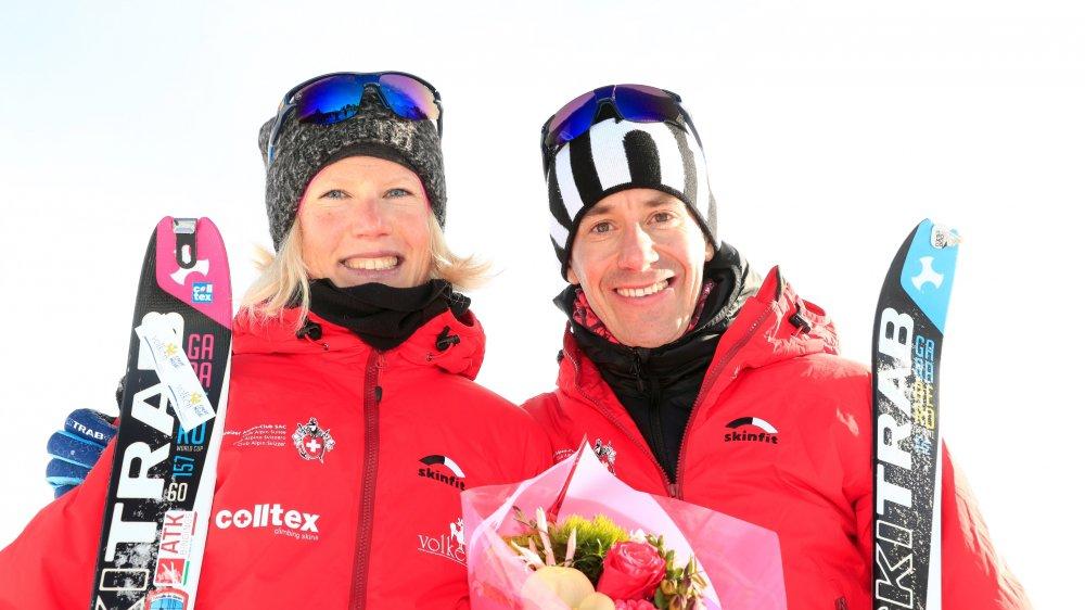 Les Valaisans Victoria Kreuzer et Martin Anthamatten font partie des Suisses à viser une médaille.