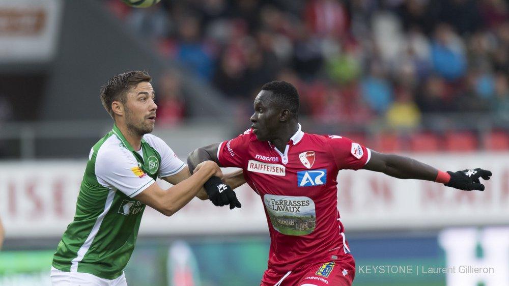 Super League: le FC Sion concède le match nul contre Saint-Gall