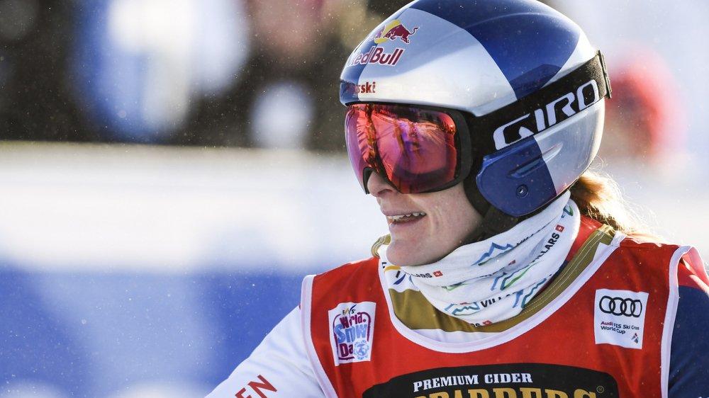 Skicross: la Vaudoise Fanny Smith remporte l'épreuve de Sunny Valley, en Russie