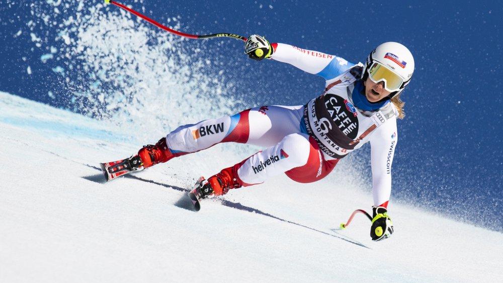Ski alpin: Joana Hählen 2e de la descente de Crans-Montana remportée par Sofia Goggia