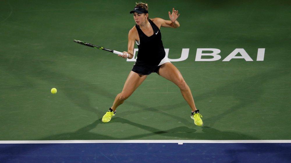 Tennis: Belinda Bencic remporte le tournoi WTA de Dubaï en battant la Tchèque Kvitova, numéro 4 mondiale