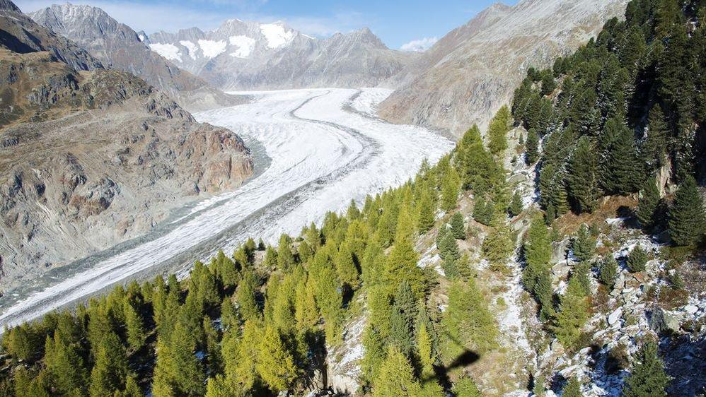 Le glacier d'Aletsch fait partie du package «Valais eau'thentique» imaginé par les étudiants de la HES-SO pour leur entreprise 2pack.