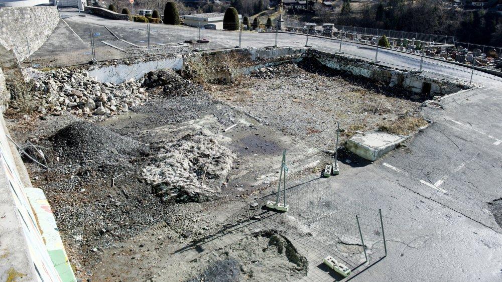 Les travaux ont démarré. La future maison de commune devrait voir le jour à l'été 2020.