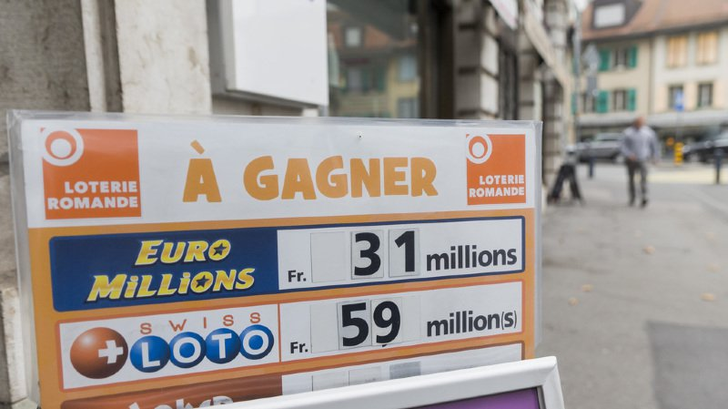 Loterie: aucun gagnant au Swiss Loto