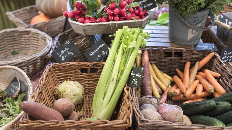 Alimentation: les Suisses ont mangé 389'000 tonnes de légumes frais en 2018, dont 15% de bio